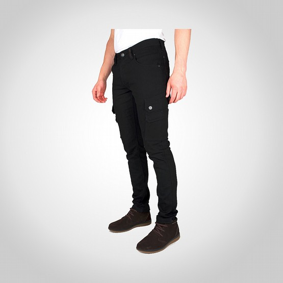 Byxa Dunderdon P62 stretch denim svart/svart 3