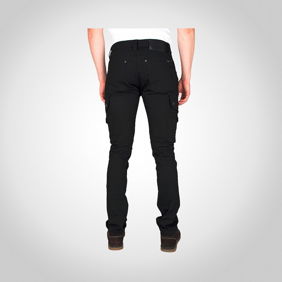 Byxa Dunderdon P62 stretch denim svart/svart 2