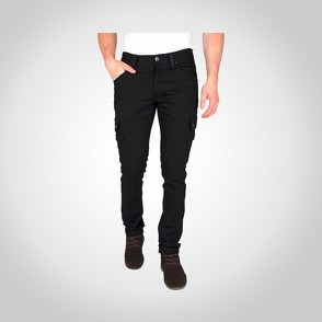 Byxa Dunderdon P62 stretch denim svart/svart
