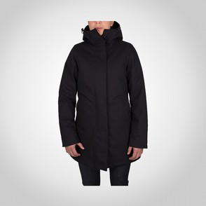Dunderdon J26 Lady Canvas Parka Black/Black