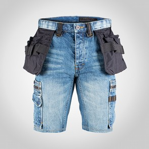 Shorts Dunderdon P55s Denim stentvättade