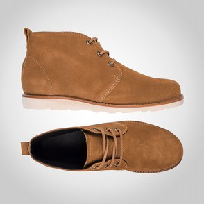 Sko Dunderdon F6 Chukka Desert Brown/Off White