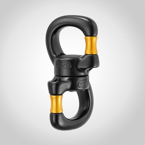 Swivel Petzl Open Svart